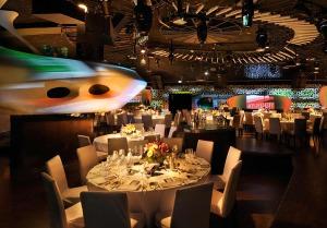 Cocoon Club in Frankfurt/Main mit festlicher Bankettbestuhlung