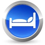 Button Hotelbett - Dark Vectorangel - Fotolia.com