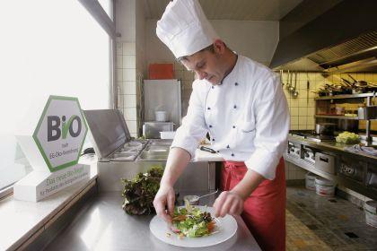 Bio ist nicht im Fokus: GV-Küchenchefs setzen aber auf regionale Produkte (Foto: Alois Müller/Dehoga)