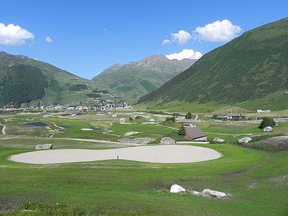 Andermatt Swiss Alps - Golfplatz