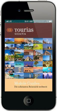 GIATA und TOURIAS bringen die kostenlose iPhone-App für über 100 Zielgebiete