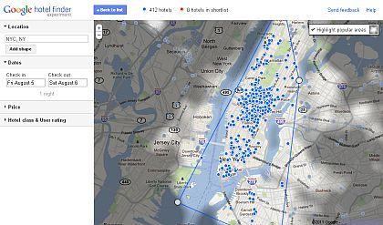 Google Hotelfinder: Bequeme Auswahl in New York City