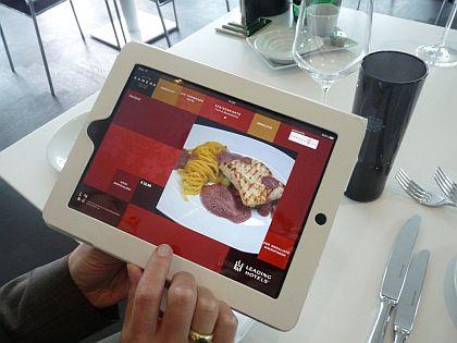 Echte Innovation im Kameha Grand Bonn: iPad-App mit Livestream zur Kameras in der Küche und elektronische Speisekarte