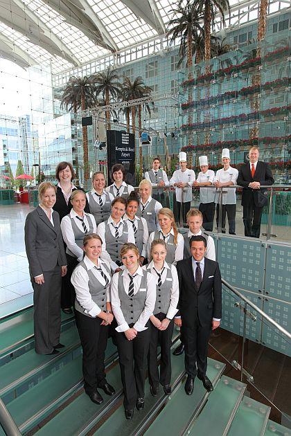 Neue Auszubildende im Kempinski Hotel Airport München