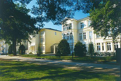 Upstalsboom Hotel Ostseestrand im Seebad Heringsdorf auf der Insel Usedom