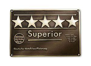 Fünf Sterne Superior - Dehoga Hotelsterne Hotelklassifizierung