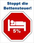 Stoppt die Bettensteuer!