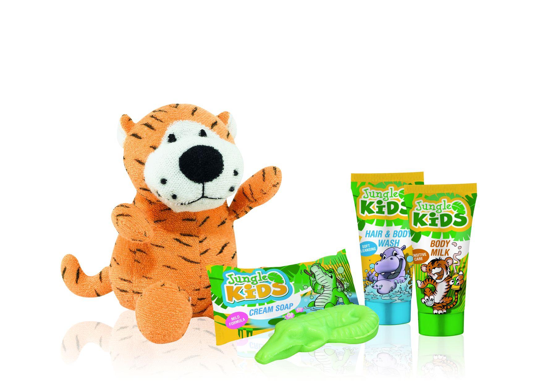 Neu von ADA Cosmetics International: Jungle Kids – Pflege-Spaß für kleine Gäst