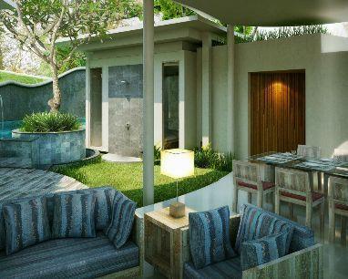 """delMango Couture Retreat in Bali: Die Topmarke """"del"""" steht dabei für """"discerningly eco luxury"""", die unmissverständliche strategische Ausrichtung auf Nachhaltigkeit in allen Fragen des Baus, der Einrichtung, des Verbrauchs und alltäglichen Betriebs"""