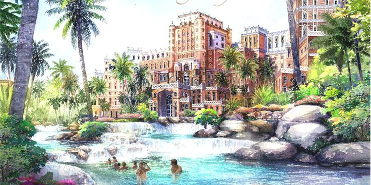 Sagenhaft: Fairmont Kingdom of Sheba Dubai