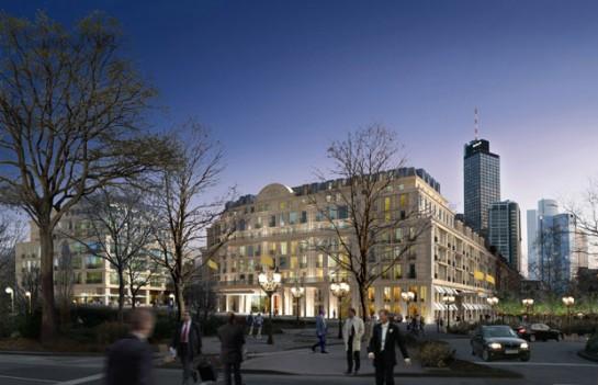 Sofitel an der Alten Oper in Bestlage in Frankfurt/Main: Das 150-Zimmer-Luxushotel wird im Herbst 2014 eröffnet