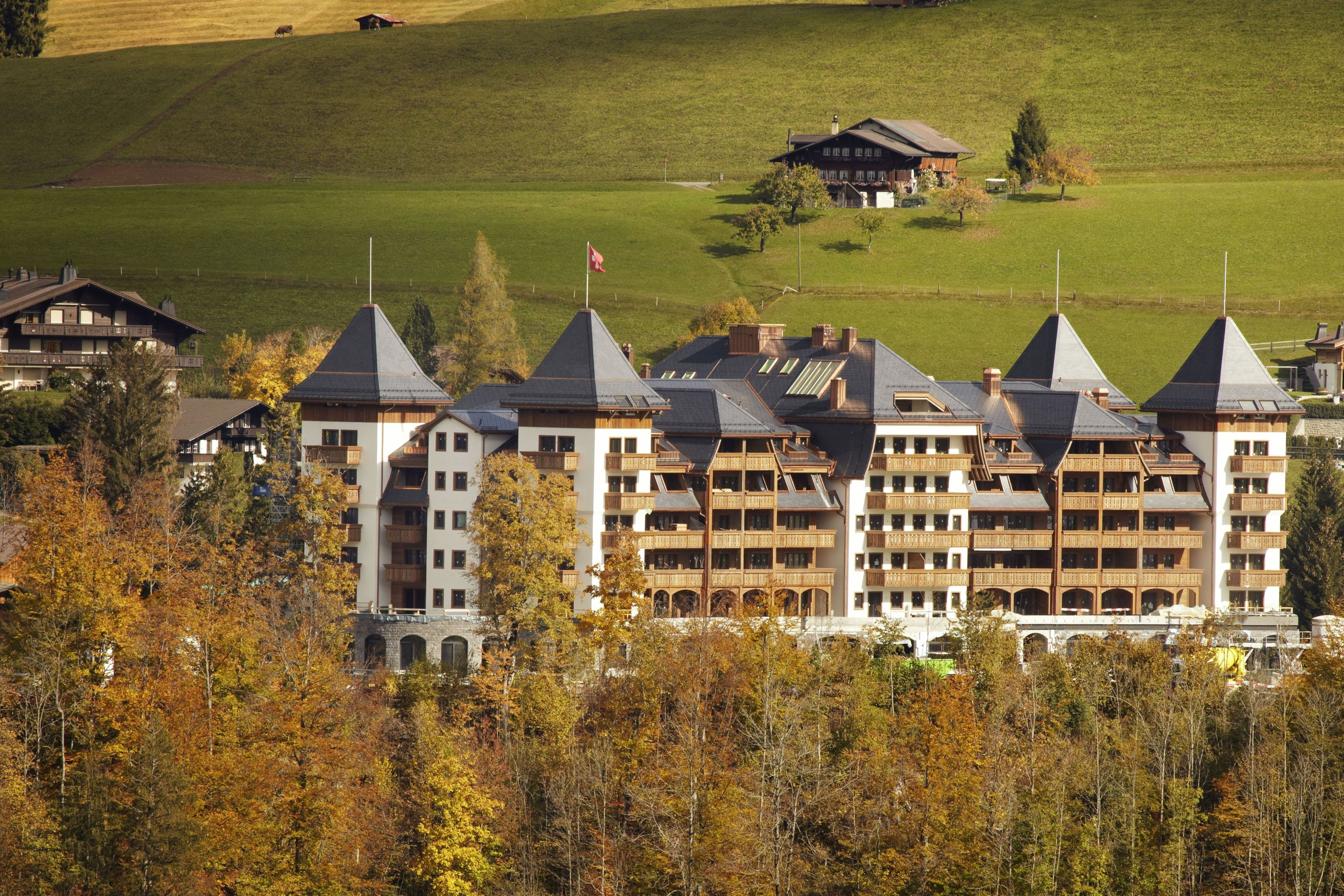 The Alpina Gstaad: Eröffnung ist für Dezember 2012 geplant