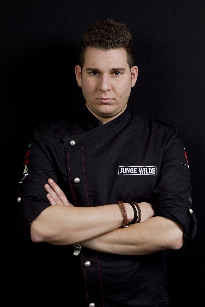 """Marco D'Andrea, Chef-Patissier im Süllberger Gourmetrestaurant """"Seven Seas"""", ist """"Junger Wilder 2012"""""""
