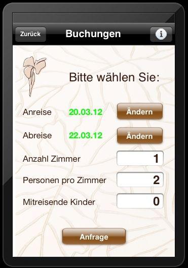 Hotel Iris Porsche App