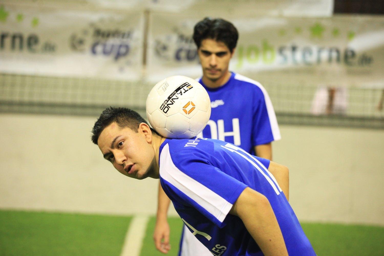 Hochklassiger Fußball beim Hotelcup 2012 in Hamburg (Foto: Philipp Schäffer)