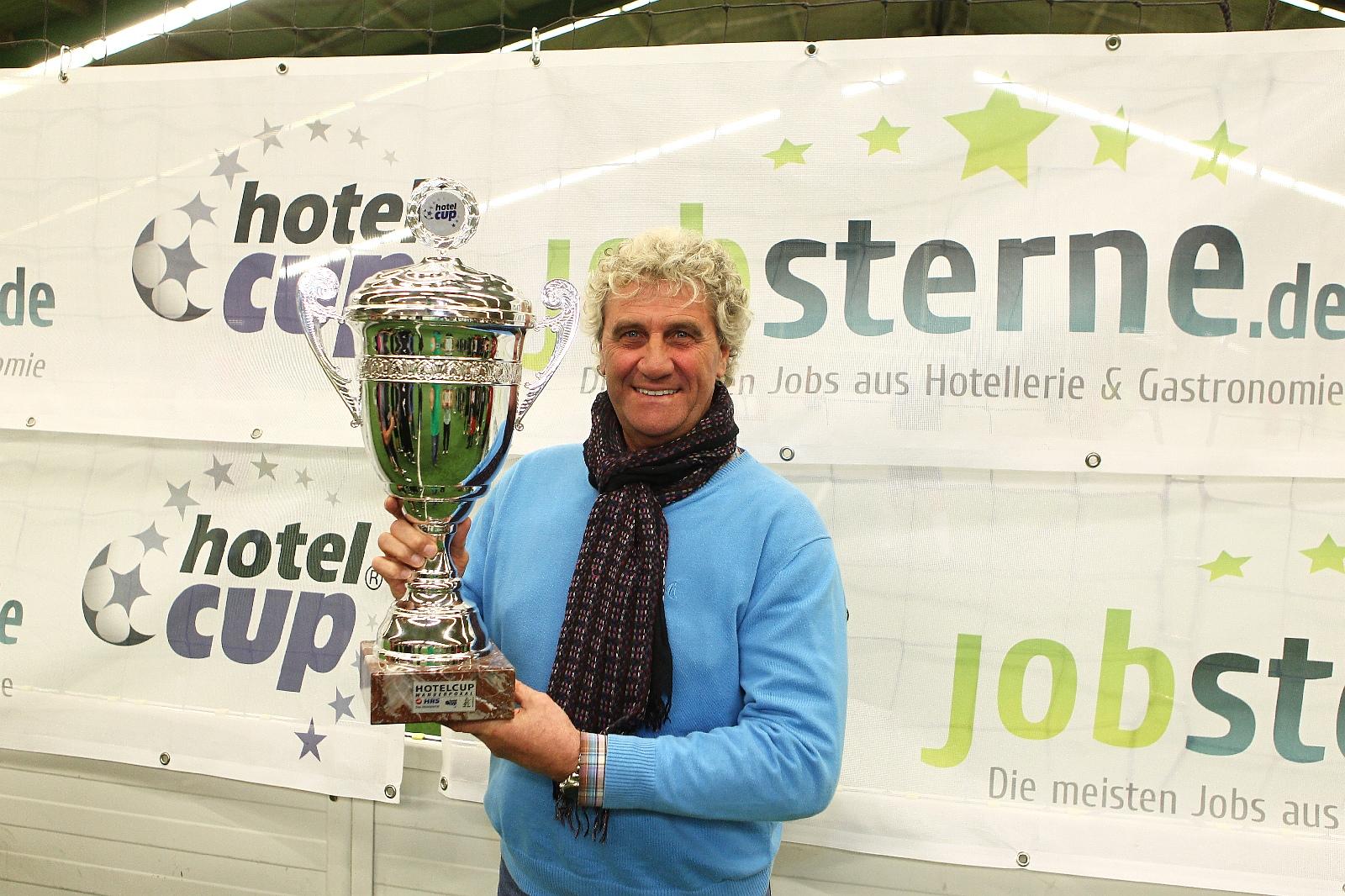 Schirmherr des Hotelcup 2012: Torwartlegende Jean-Marie Pfaff (Foto: Philipp Schäffer)