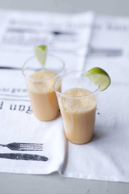 Karotten-Ingwer-Milch