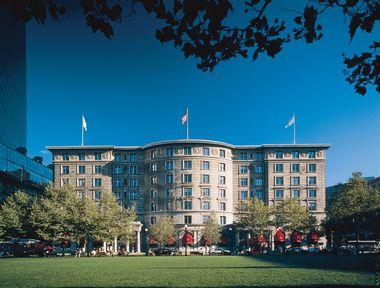 The Fairmont Copley Plaza in Boston
