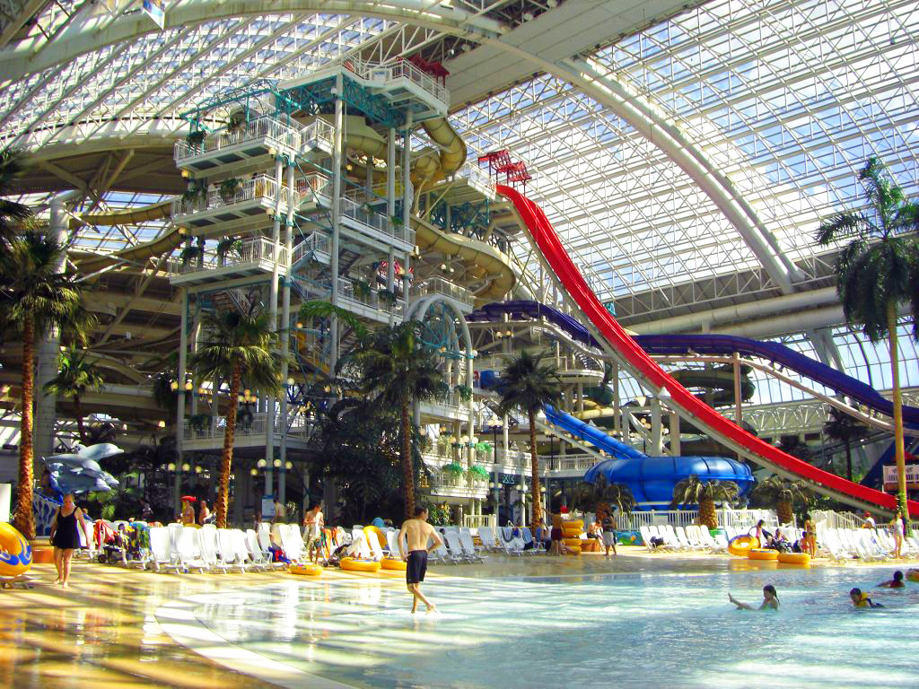 World Water Park in Edmonton