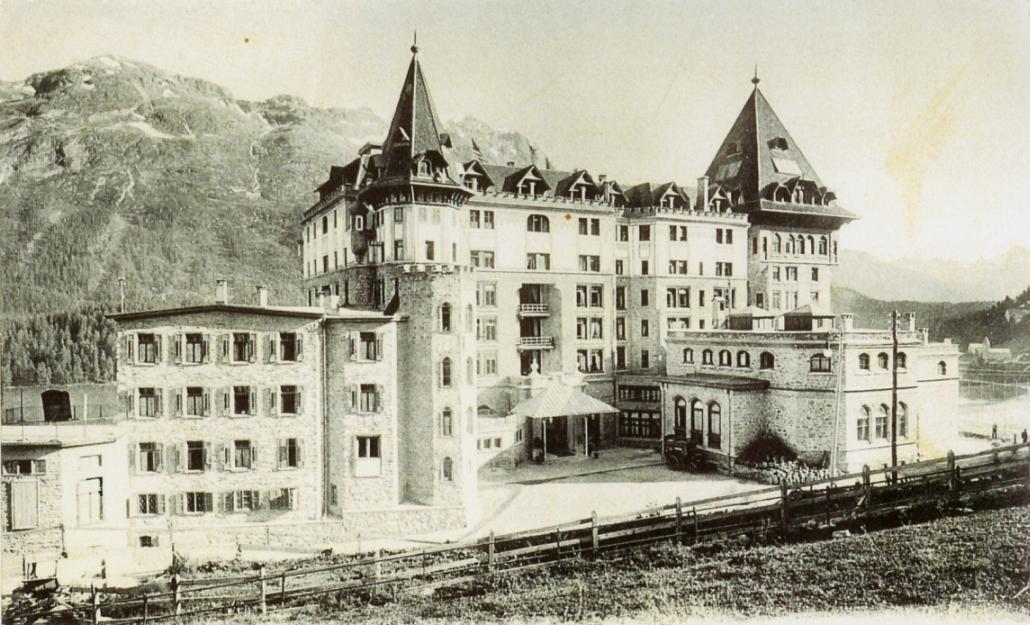 Badrutt's Palace Hotel um 1900