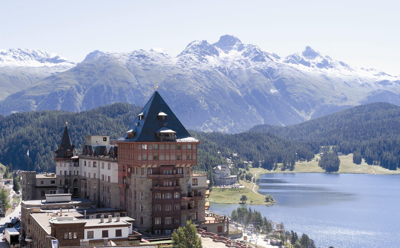Badrutt's Palace Hotel - Panorama