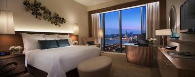 JW Marriott Absheron Baku: Deluxe-Zimmer mit Meerblick