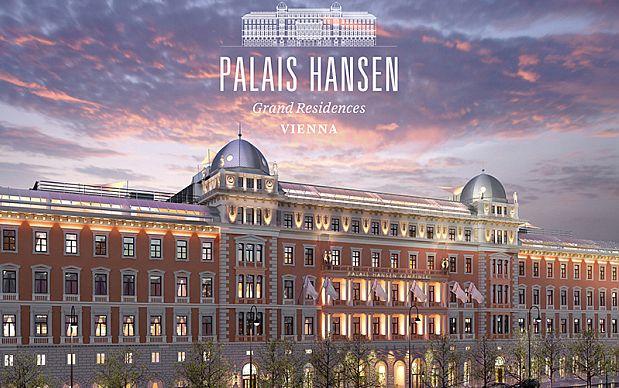 Kempinski Palais Hansen Wien: Eröffnung im Frühjahr 2013