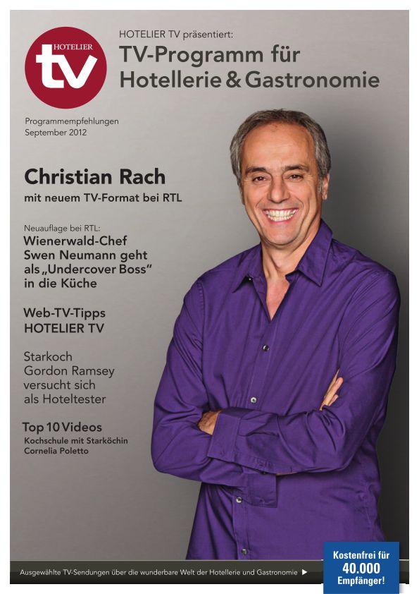 HOTELIER TV präsentiert: TV-Programm für die Hotellerie - September 2012