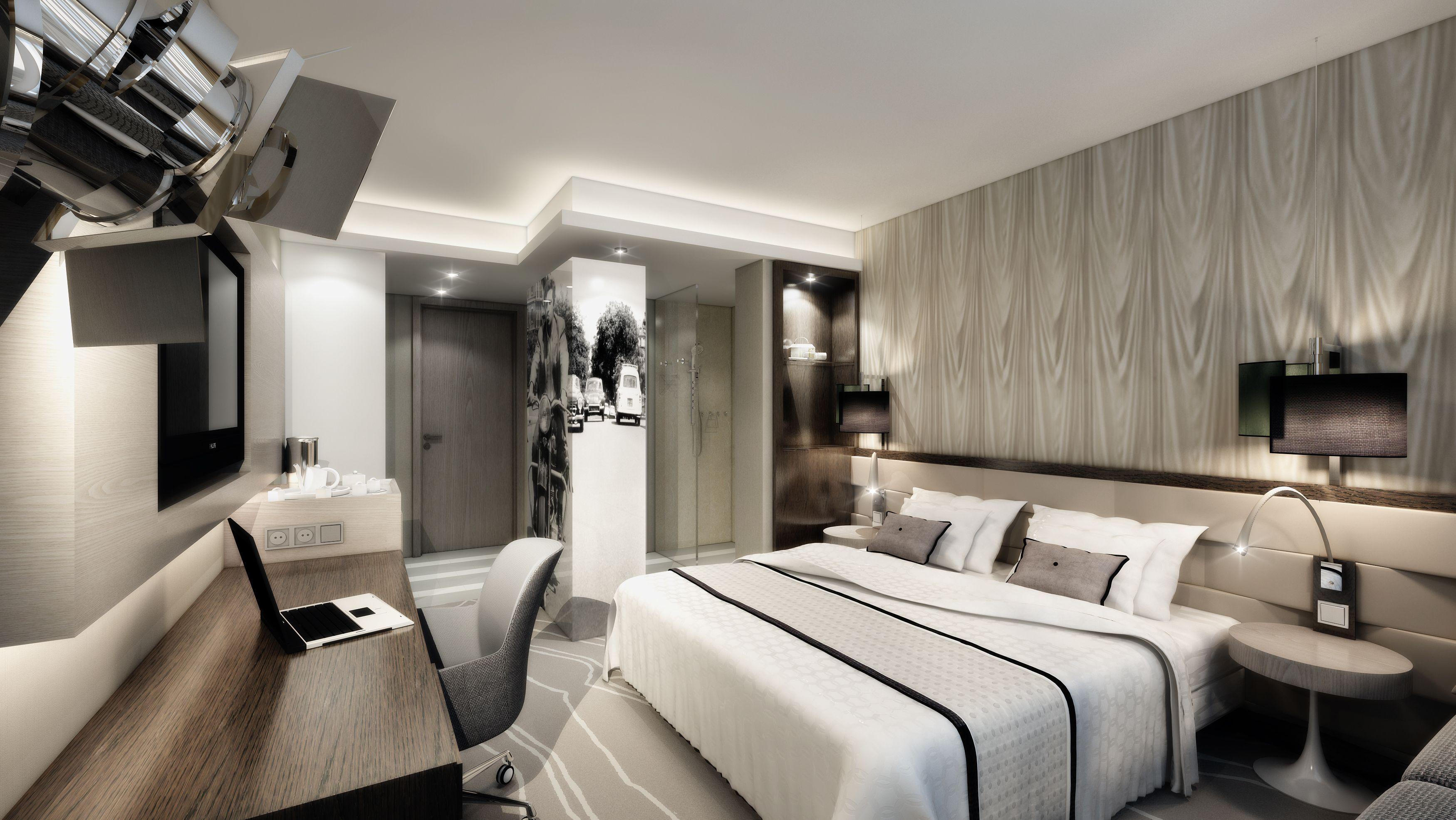 """Anmutung für Luxus-Hotelzimmer: Exklusive """"JOI-Hotelrooms"""" sind ab 2013 im Hotel-Kompetenz-Zentrum zu besichtigen"""