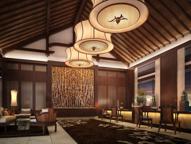 Banyan Tree Lang Co - Reception area
