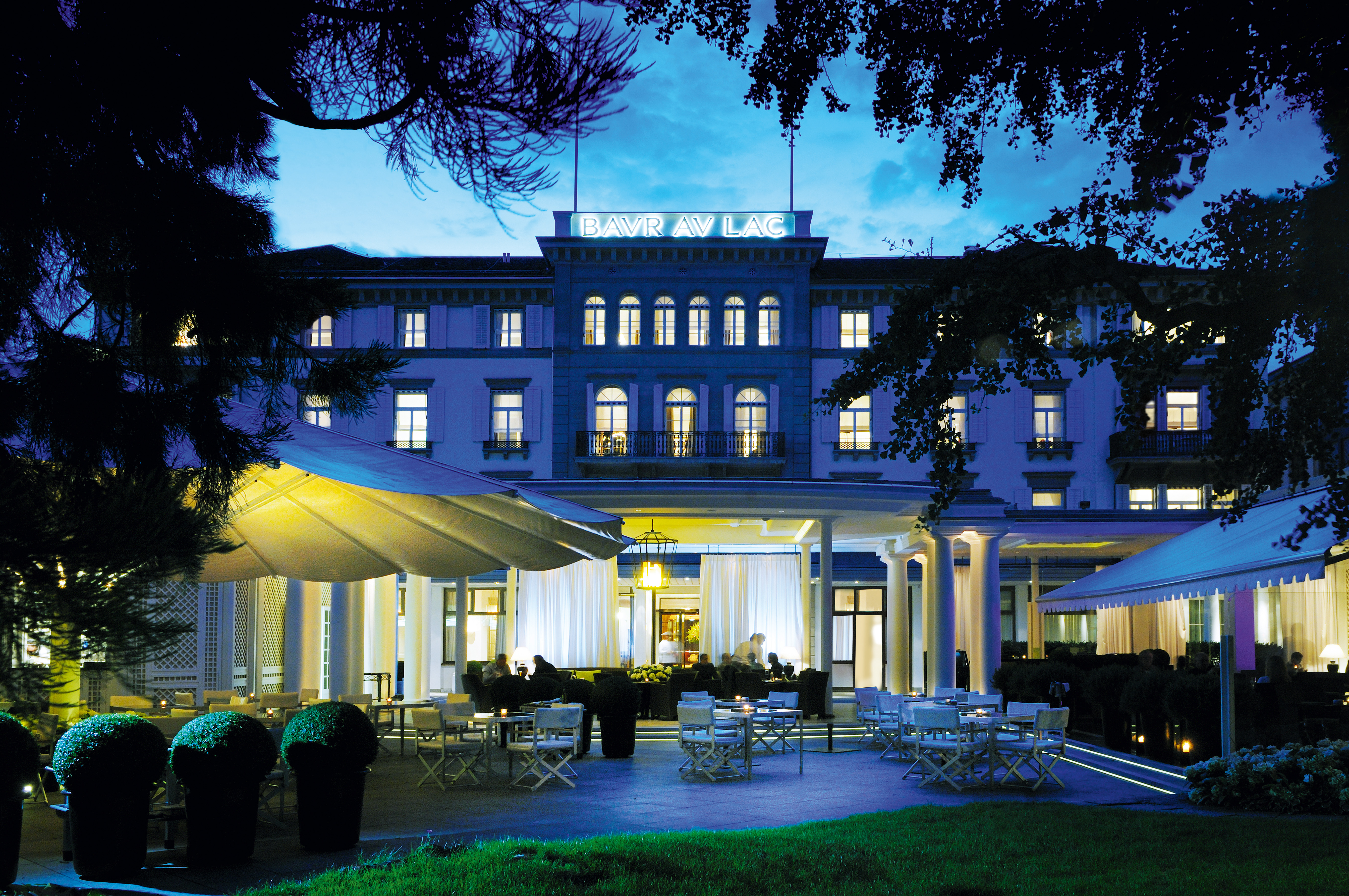 Hotel des Jahres 2012 für den GaultMillau Schweiz: Baur au Lac Zürich