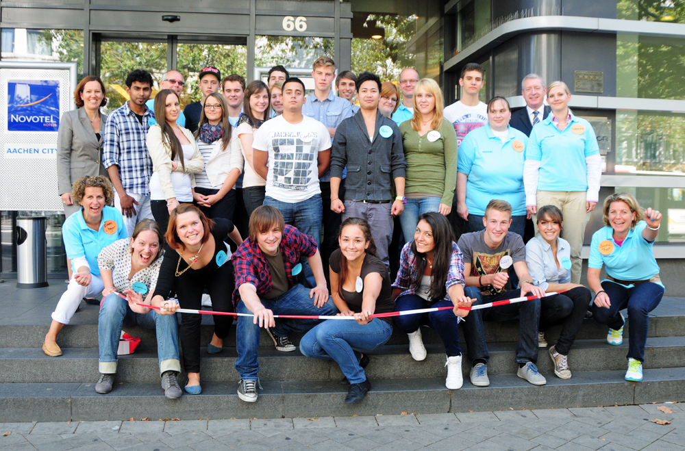 "Accor Welcome Day 2012 in Aachen unter dem Motto ""Wir starten in die Zukunft"" (Foto: Claudia Wingens)"