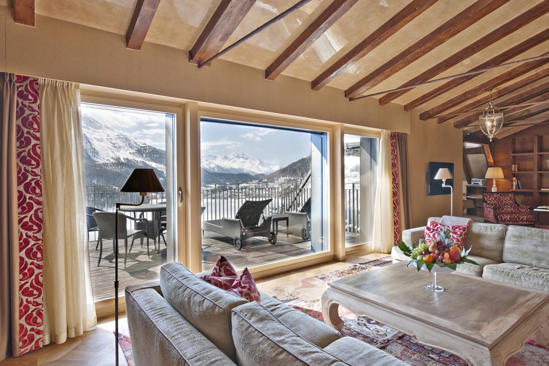 Carlton Hotel eröffnet die grösste Suite in St. Moritz: 386 Quadratmeter - die Übernachtung kostet knapp 14.000 Euro