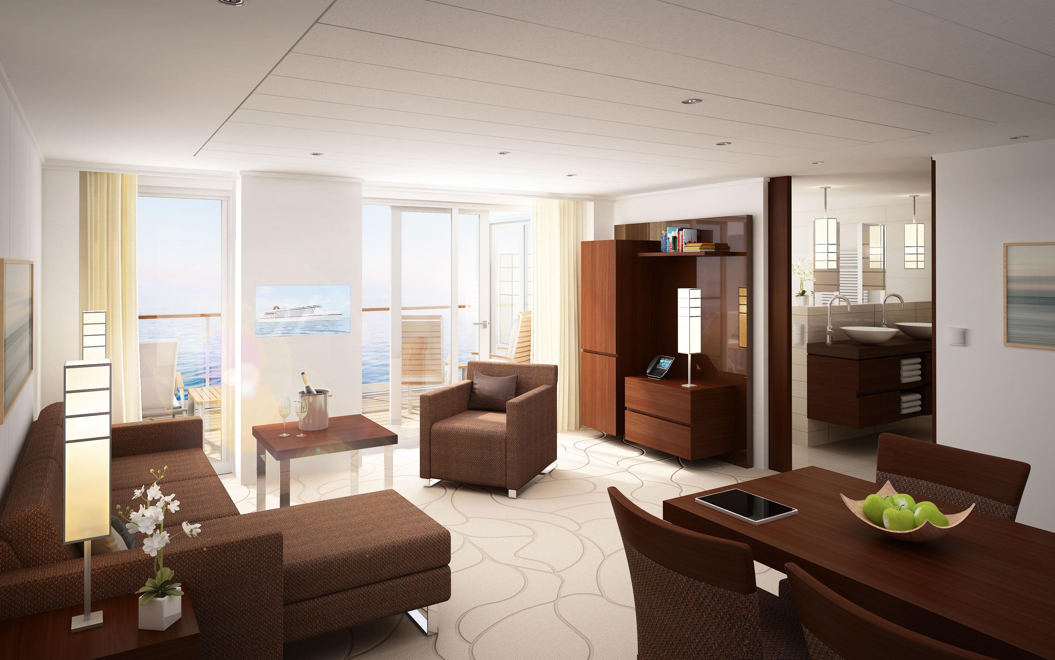 "Grand Penthouse Suite auf der ""MS Europa 2"""