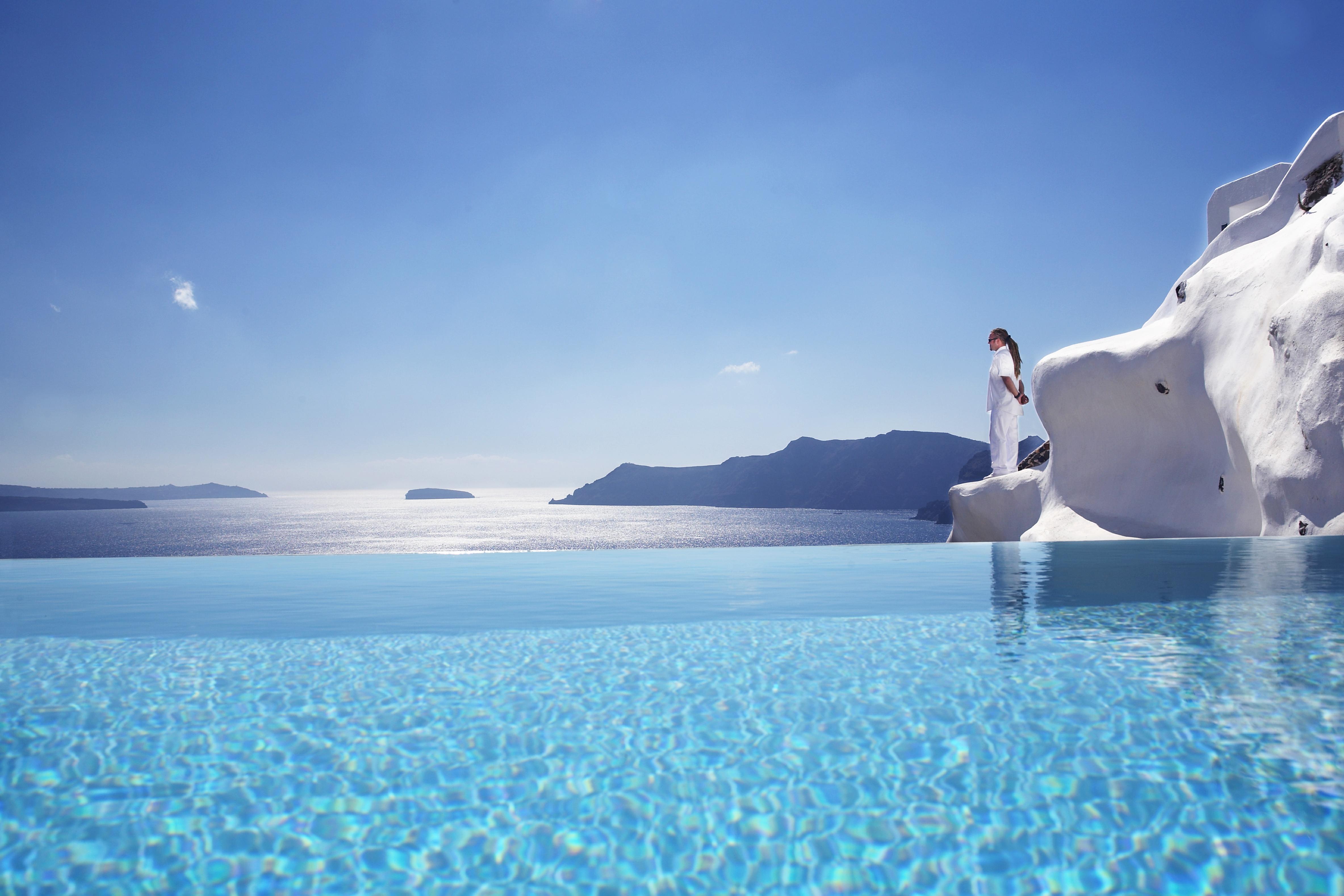 Katikies Hotel - Oia, Griechenland - Infinity Pool