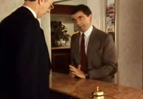 Klassiker unter den unterhaltsamsten Hotel-Videos: Mr. Bean im Hotel