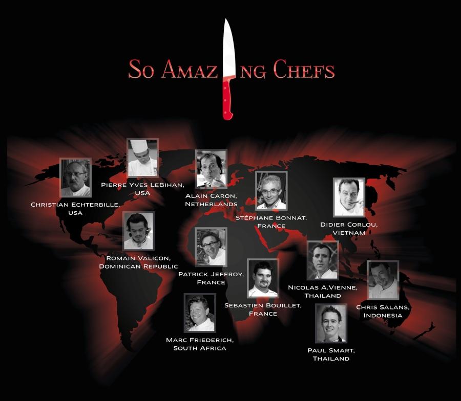 So Amazing Chefs 2012 at Sofitel So Bangkok