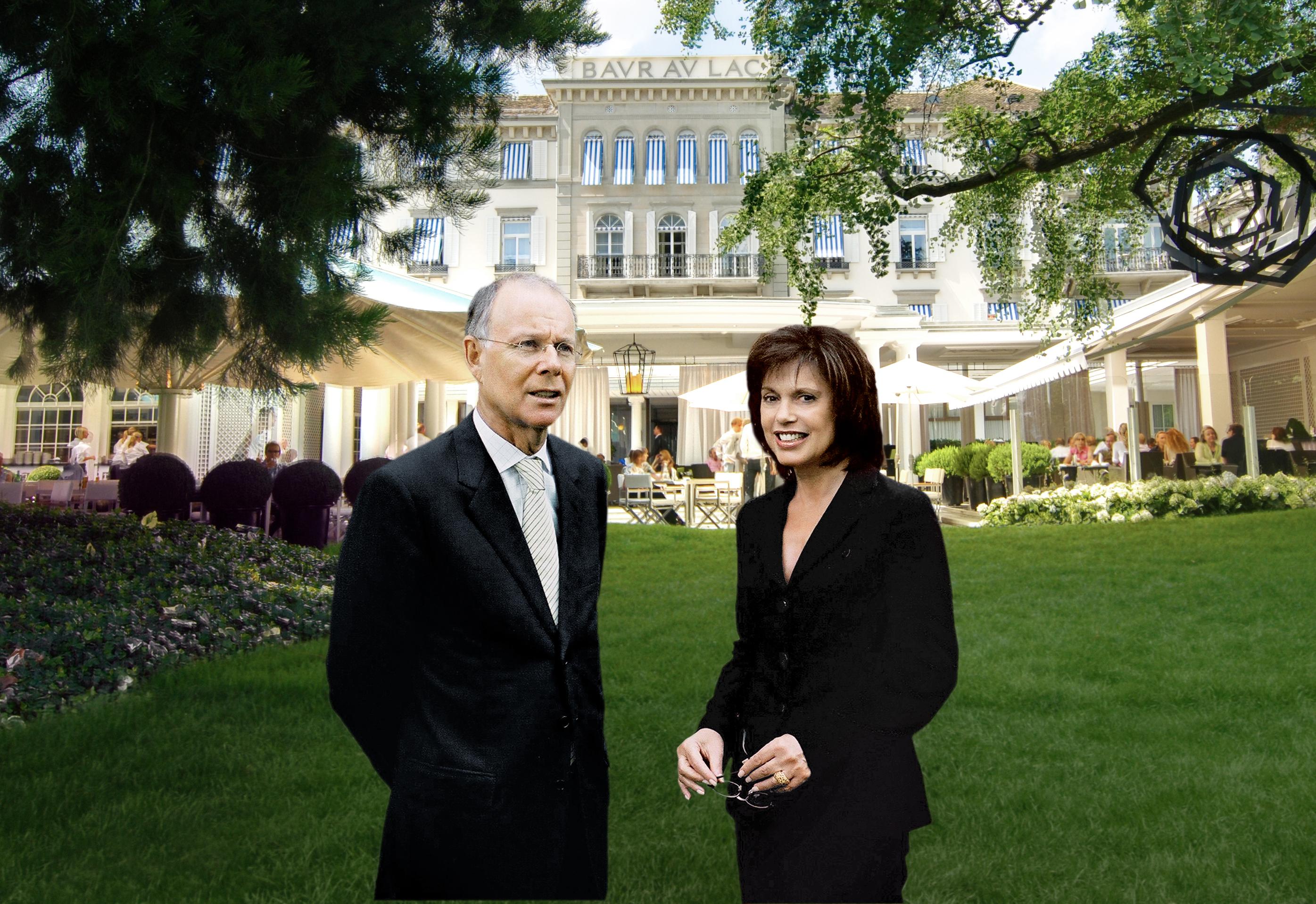 """GaultMillau Schweiz zeichnet Baur-au-Lac-Hoteldirektor Michel Rey mit der Ehrung """"Hotelier des Jahres 2012"""" aus"""