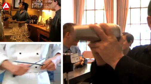 Berufe TV macht Werbung für eine Ausbildung in Hotels & Gastronomie