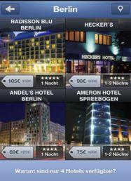 """""""Blink Booking"""" - neue App für kurzfristige Hotelbuchungen"""