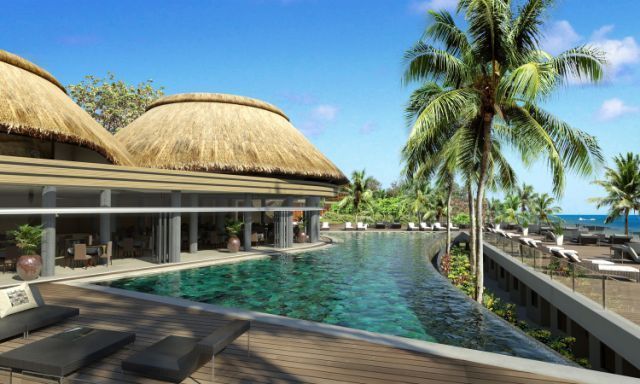 Centara Poste Lafayette Resort & Spa Mauritius - Pool View