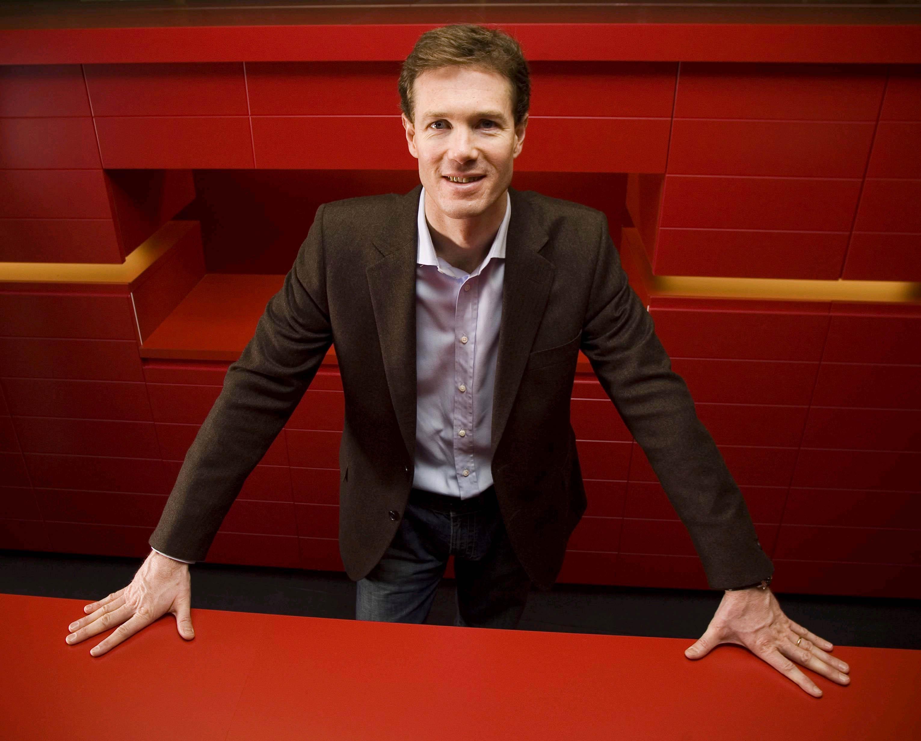 David Roche, Präsident des Expedia-Hotelbuchungsportals hotels.com