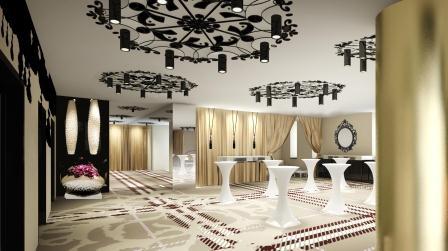 Falkensteiner Hotel Stara Planina Belgrad - Lobby im Konferenzbereich
