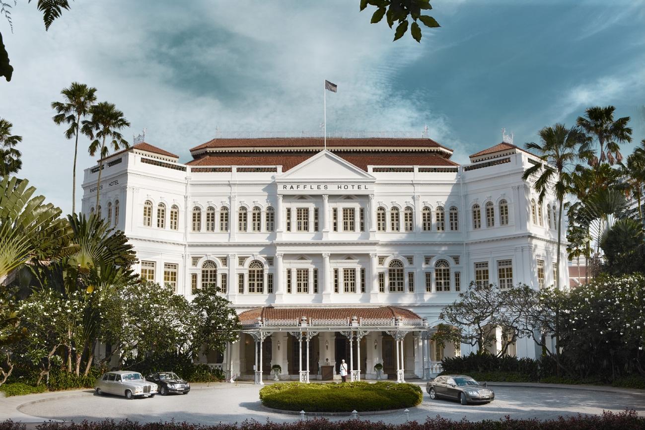 125 Jahre alt: Raffles Hotel Singapur
