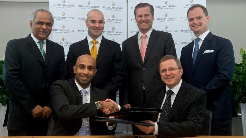 Rahail Aslam (CEO, Select Group) with Pascal Gauvin (COO, IMEA, IHG)