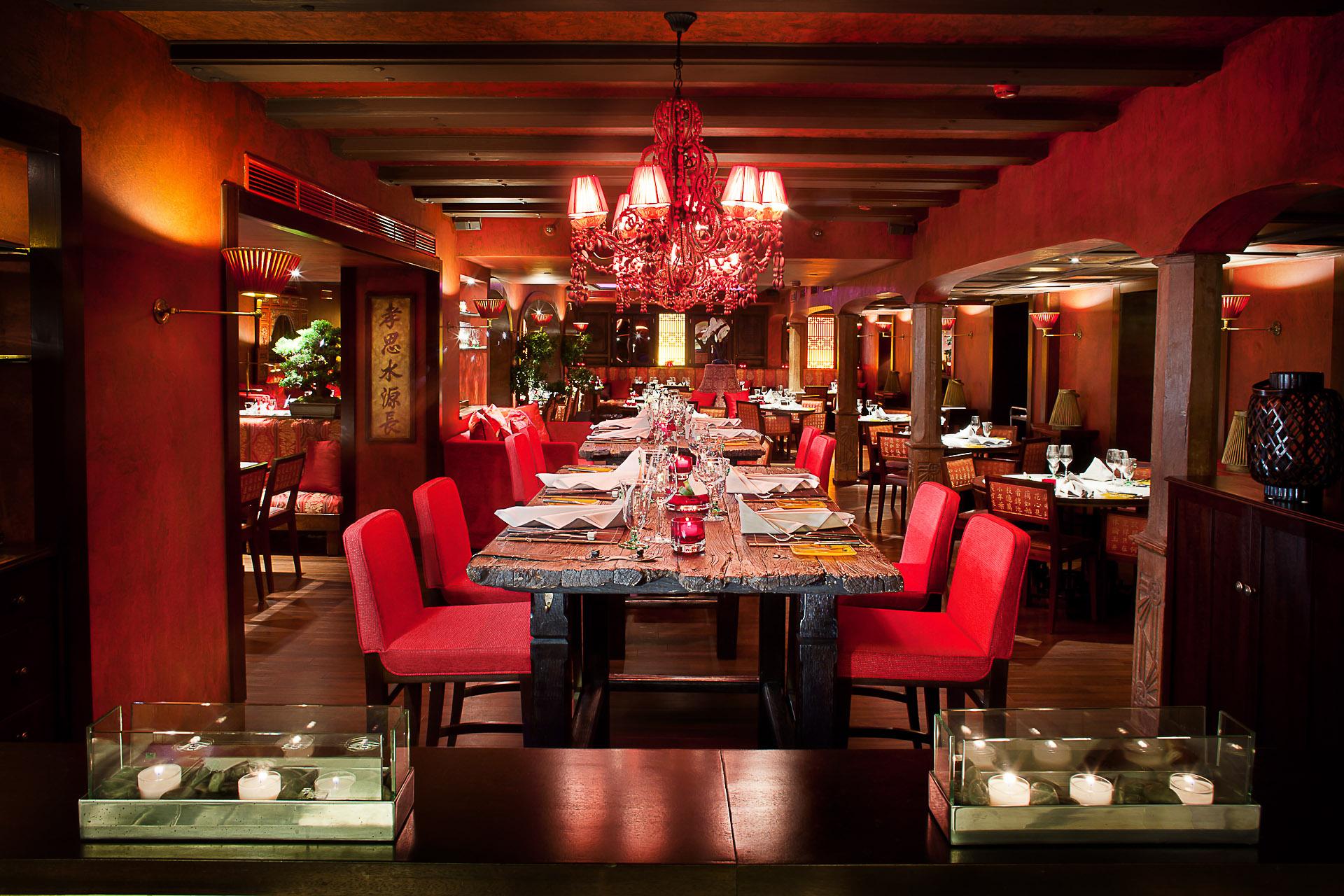 Restaurant Doc Cheng's - Fairmont Hotel Vier Jahreszeiten Hamburg