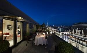 Hotel Sacher Wien - Terrasse der Presidential Suite
