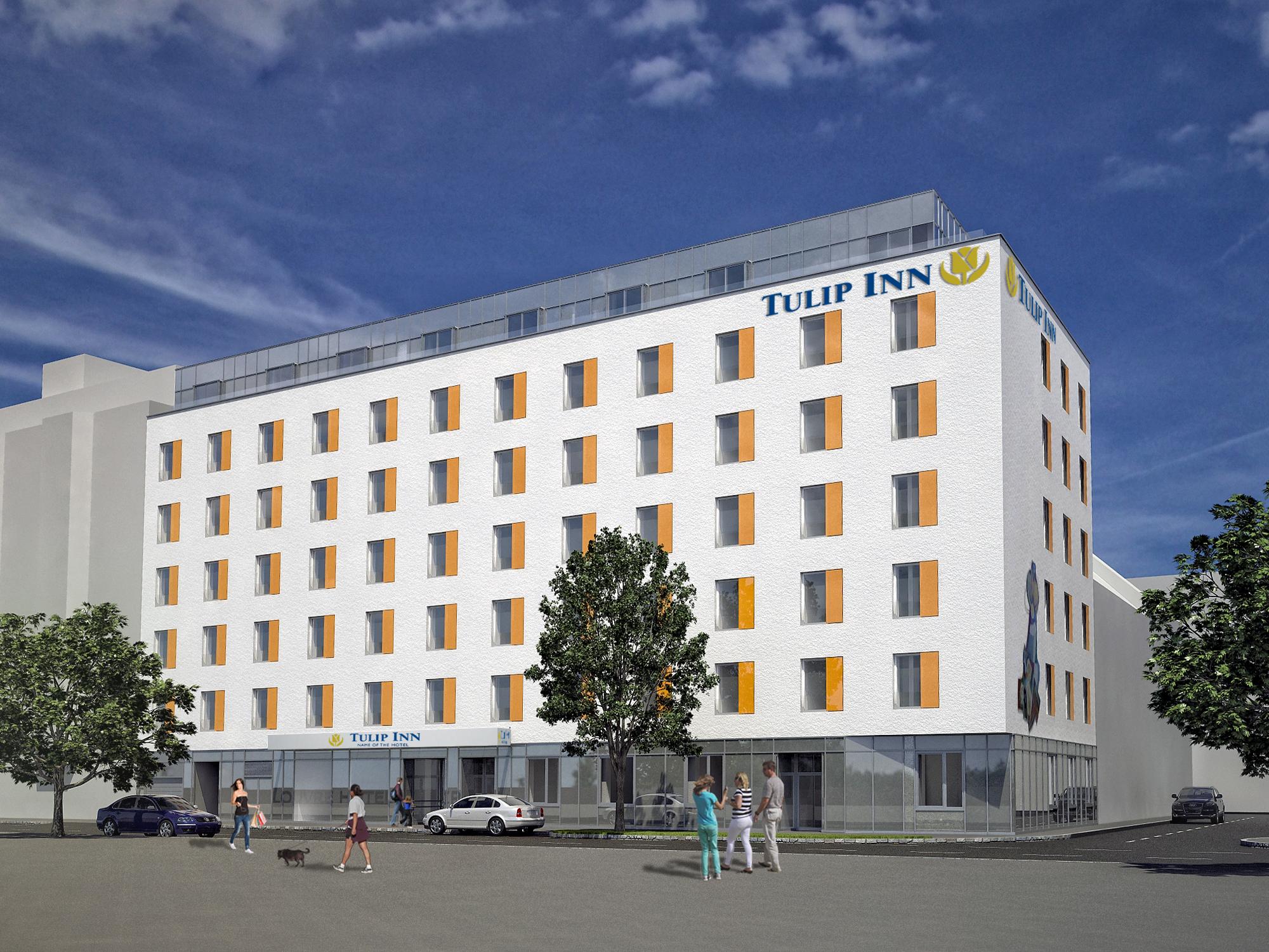 Baustart für Tulip Inn Hotel Wien - Eröffnung ist Ende 2013