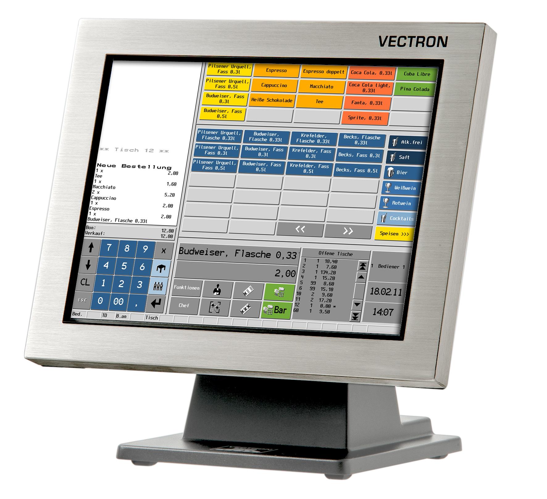 Vectron POS SteelTouch II