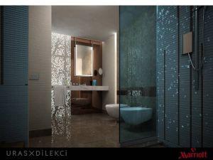 Badezimmer im Marriott Sisli Hotel Istanbul